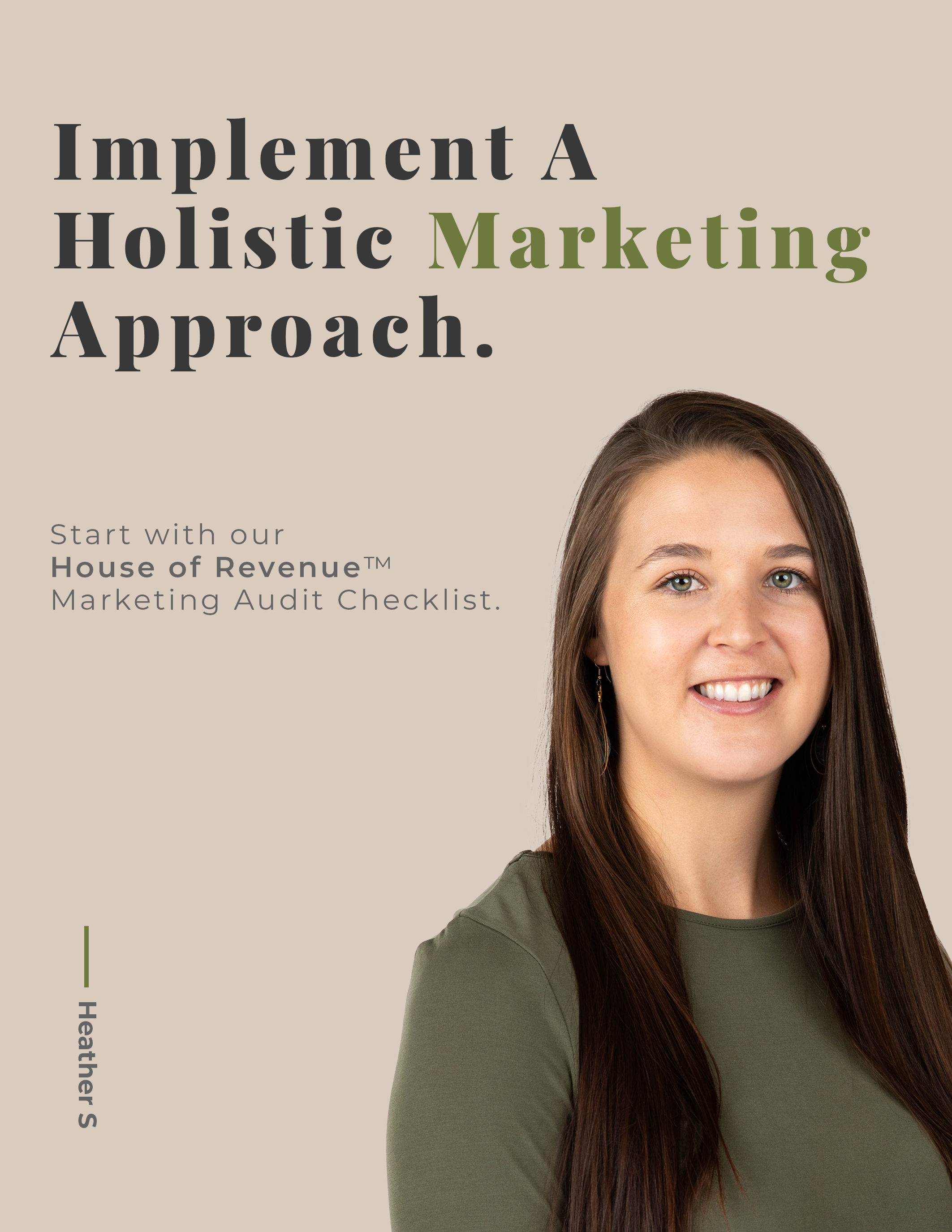 Marketing Audit Cover Page