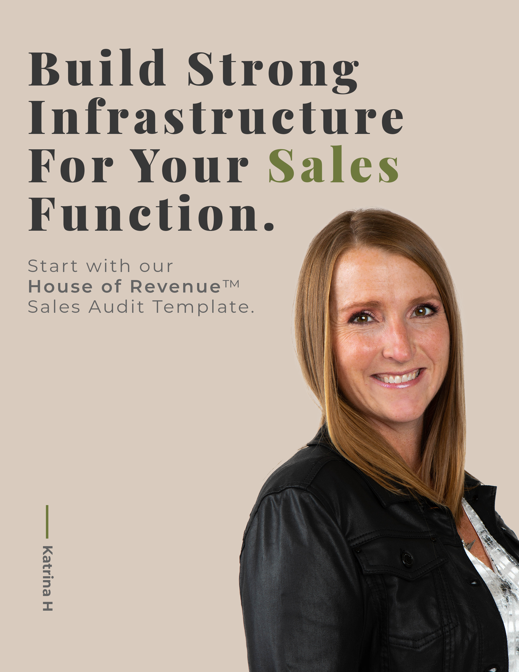 Sales Audit Cover Page