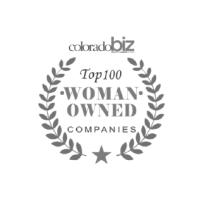 Top 100 Woman Owned Companies Logo